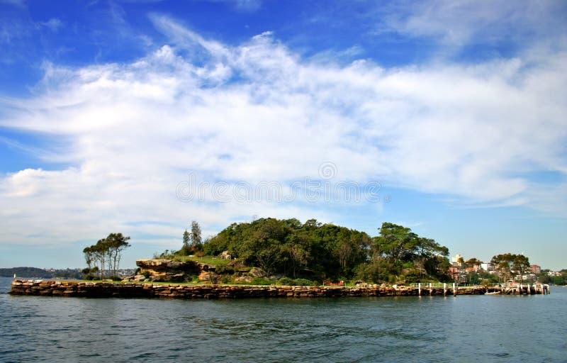 Het Eiland van de haai, Sydney stock afbeelding