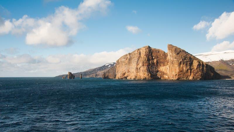 Het eiland van de teleurstelling, Antarctica stock fotografie
