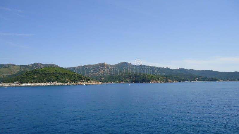 Het eiland van Elba - Italië royalty-vrije stock foto's