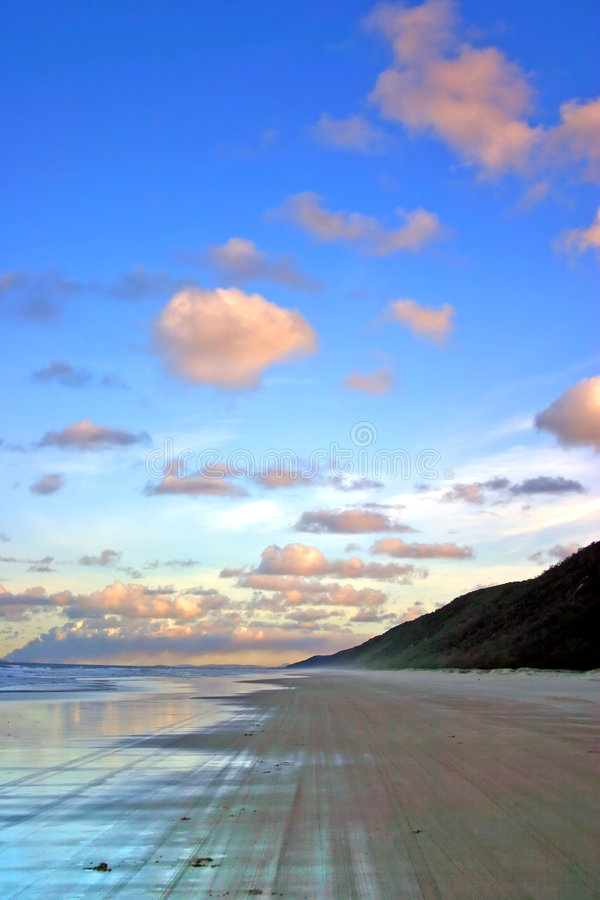 Het Eiland van Fraser, Australië royalty-vrije stock fotografie