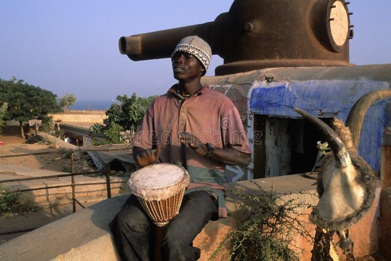 Het Eiland van Goree - Senegal royalty-vrije stock foto's