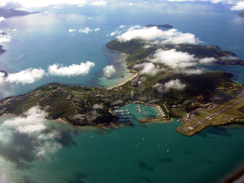 Het eiland van Hamilton stock foto's