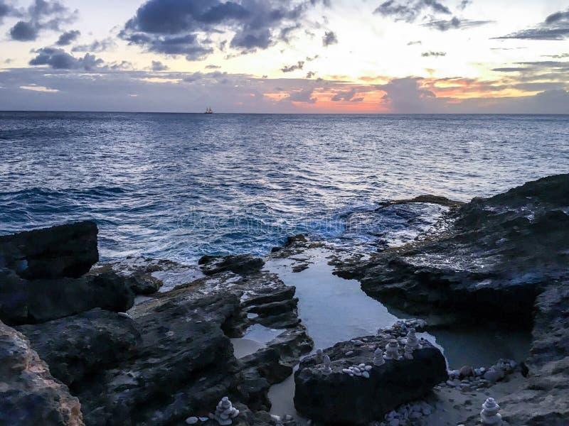 Het eiland van het paradijs stock foto's