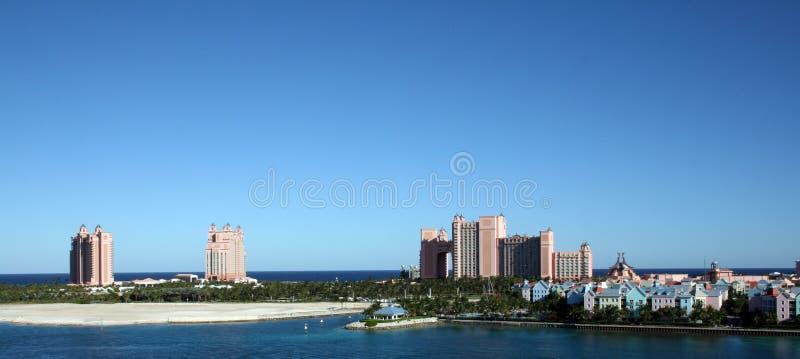 Het Eiland van het paradijs in Nassau de Bahamas stock foto