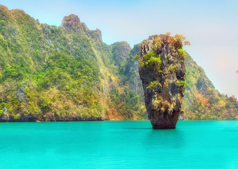 Het Eiland van James Bond, Thailand royalty-vrije stock foto