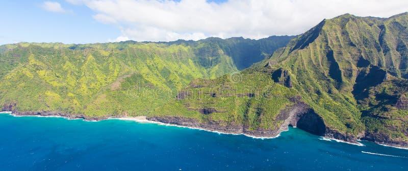 Het eiland van Kauai stock afbeelding
