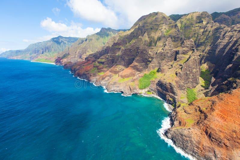 Het eiland van Kauai stock foto