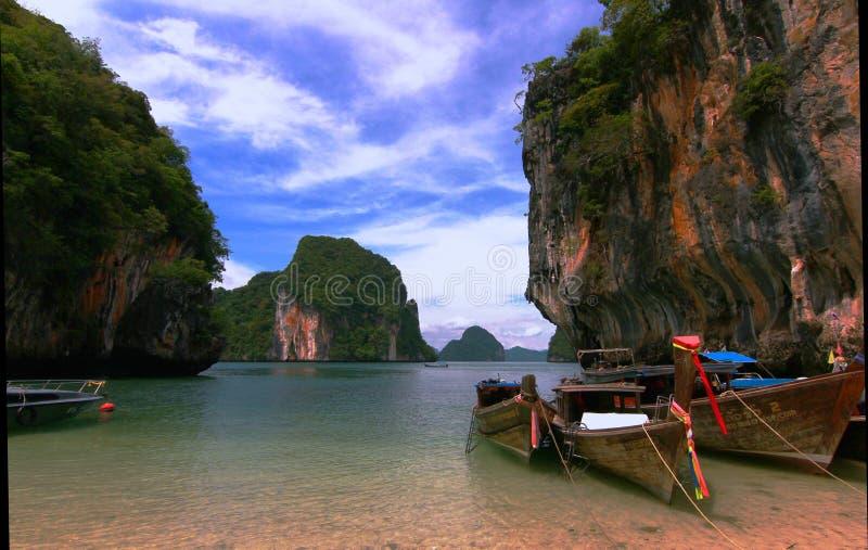 Het eiland van Krabithailand stock foto's