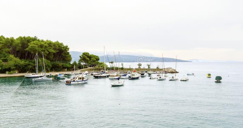 Het Eiland van Krk, Kroatië stock foto's