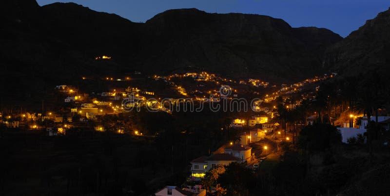 Het Eiland van La Gomera De Valle Gran Rey royalty-vrije stock fotografie