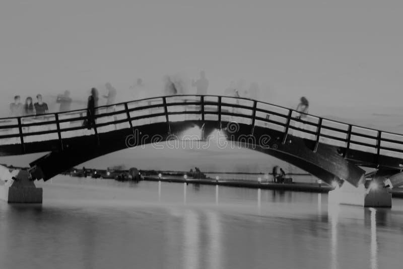 Het eiland van Lefkada de brug royalty-vrije stock afbeelding