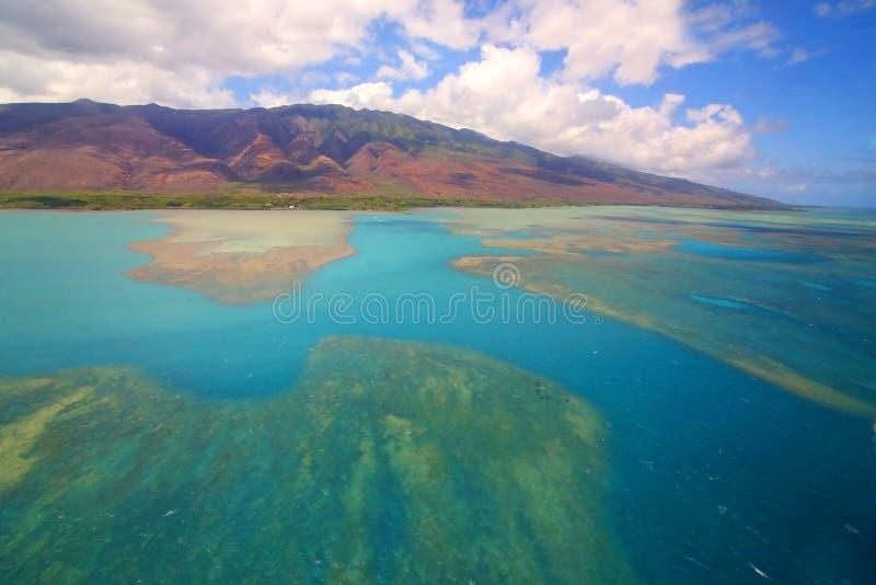 Het eiland van Molokai, Maui royalty-vrije stock afbeeldingen