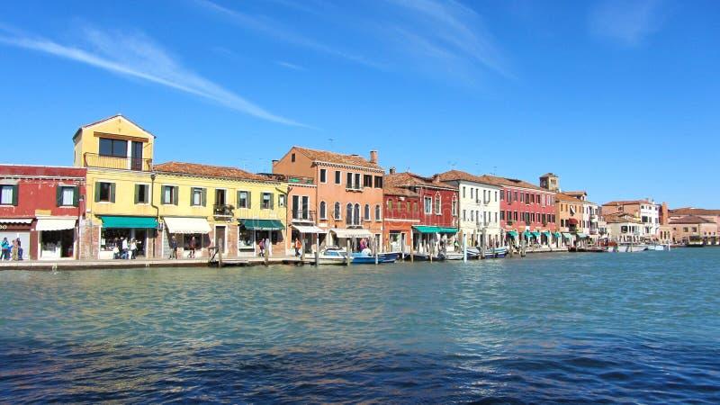 Het eiland van Murano royalty-vrije stock afbeelding