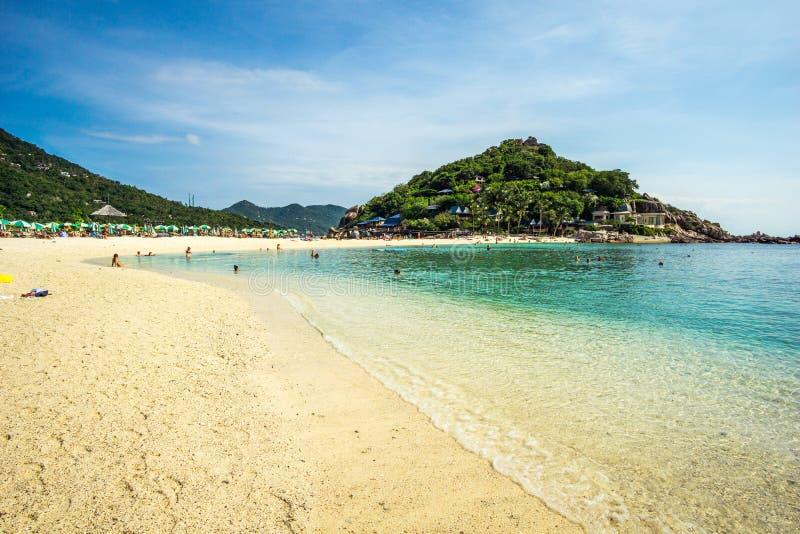 Het eiland van Nangyuans, Thailand stock fotografie