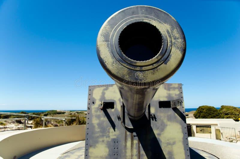 Het Eiland van Oliver Hill Battery - Rottnest- royalty-vrije stock afbeeldingen