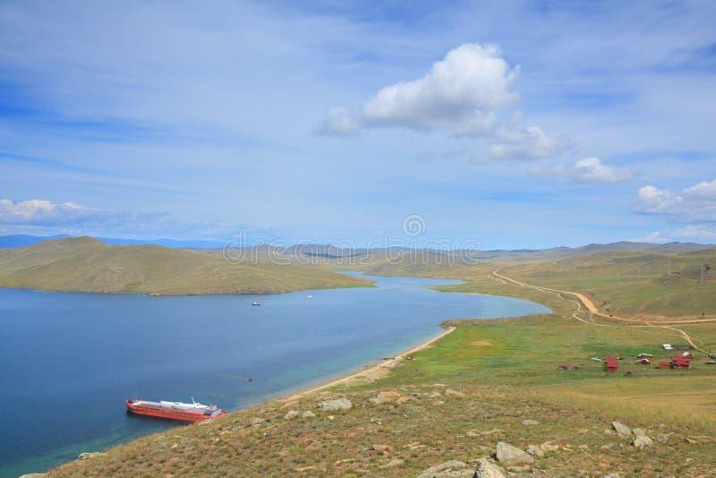 Het eiland van Olkhon royalty-vrije stock foto