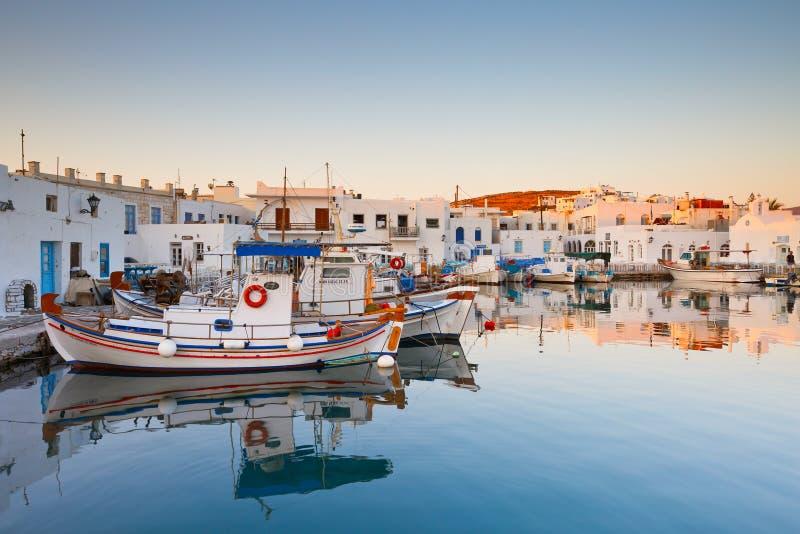 Het eiland van Paros stock foto's