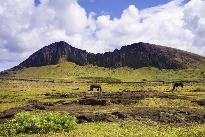 Het eiland van Pasen royalty-vrije stock fotografie