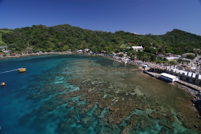 Het eiland van Roatan, Honduras royalty-vrije stock fotografie
