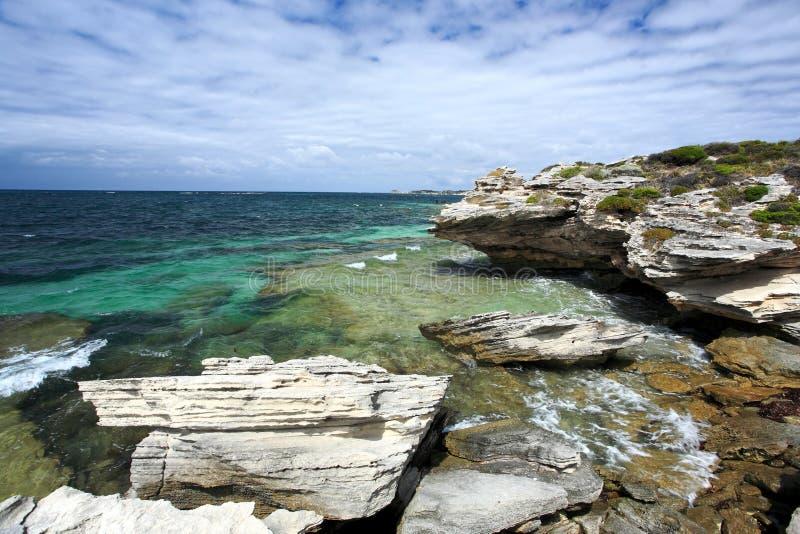 Het Eiland van Rottnest, Westelijk Australië royalty-vrije stock foto's