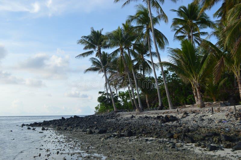 Het Eiland van Sambergelap, Kotabaru, Zuid-Borneo, Indonesië stock foto
