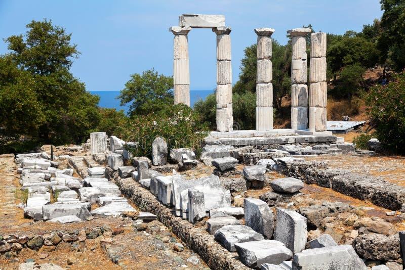 Het eiland van Samothrace - Griekenland royalty-vrije stock foto