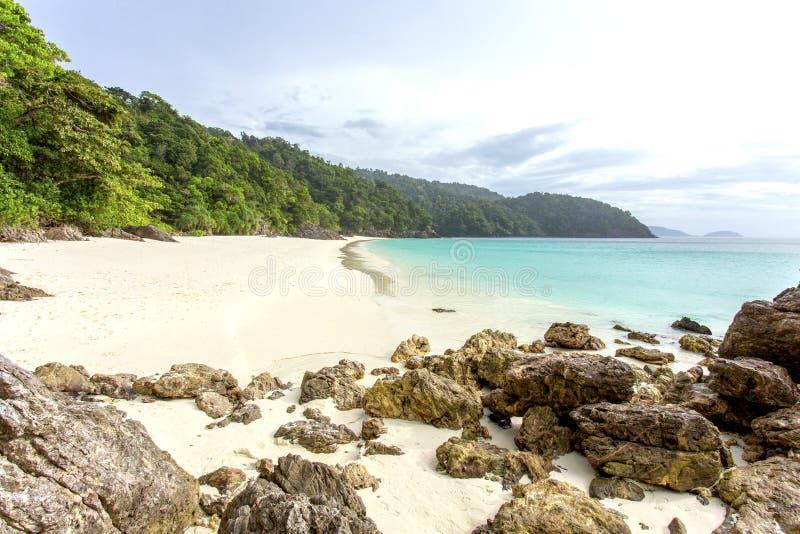 Het eiland van Ta Fook stock foto's