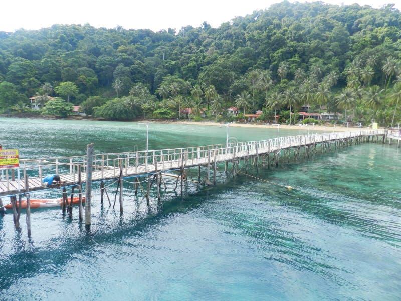 Het eiland van Thailand stock fotografie