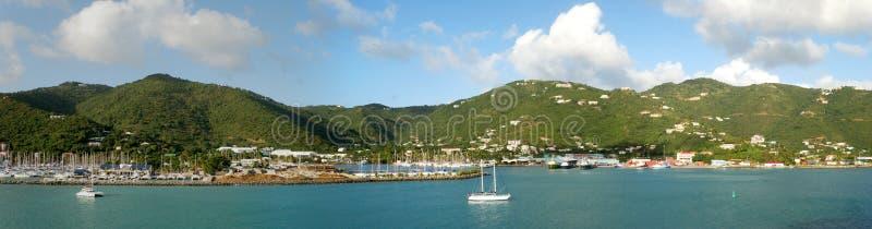 Het Eiland van Tortola stock afbeelding