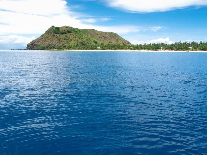 Het Eiland van Vomo, Fiji stock foto