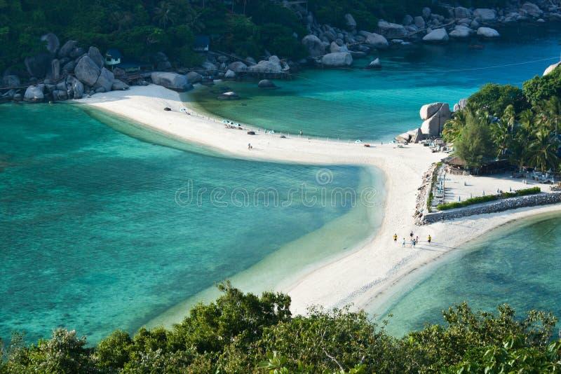 Het eiland van Yuan van Nang in Thailand stock afbeelding