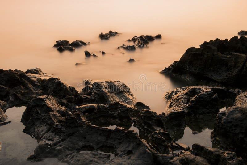 Het Eiland van zeegezichtsi -si-chang stock afbeeldingen