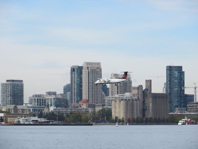 Het Eilandluchthaven van Toronto royalty-vrije stock fotografie