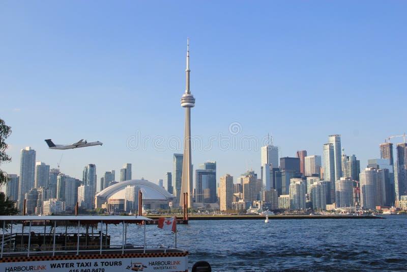 Het eilandluchthaven van Toronto, Canada royalty-vrije stock afbeelding