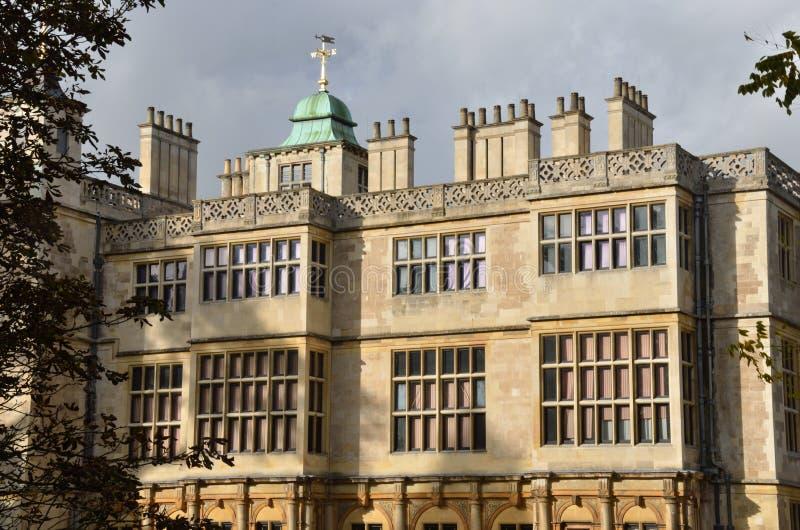 Het eindbuitenhuis van Audley royalty-vrije stock fotografie