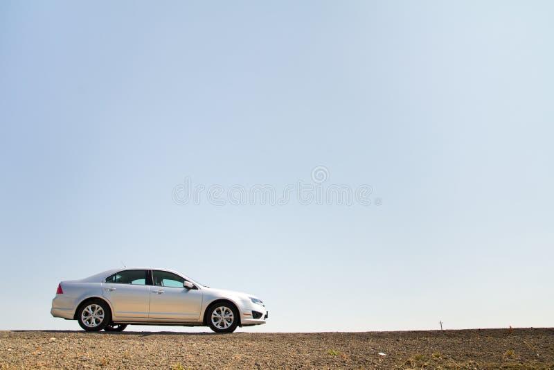 Het einde van de auto voor het rusten royalty-vrije stock foto
