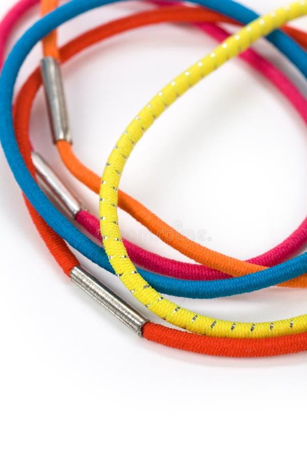 Het elastiekje van de kleur stock afbeeldingen
