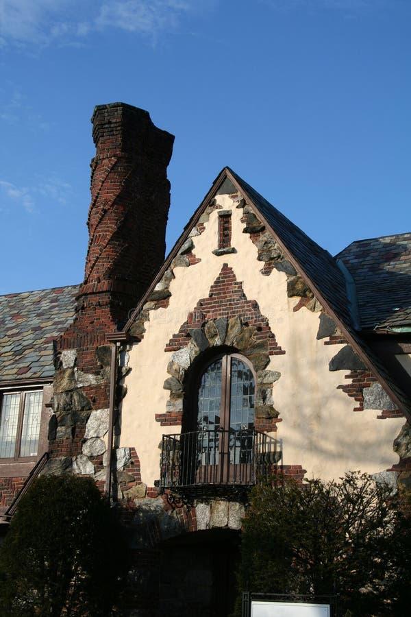 Het elegante Huis van de Baksteen stock foto's