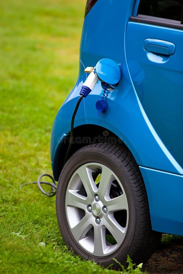 Het elektrische auto vullen stock foto's