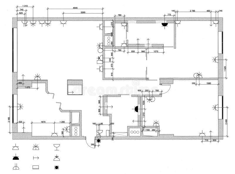 Het elektrische materiaalplan stock afbeeldingen