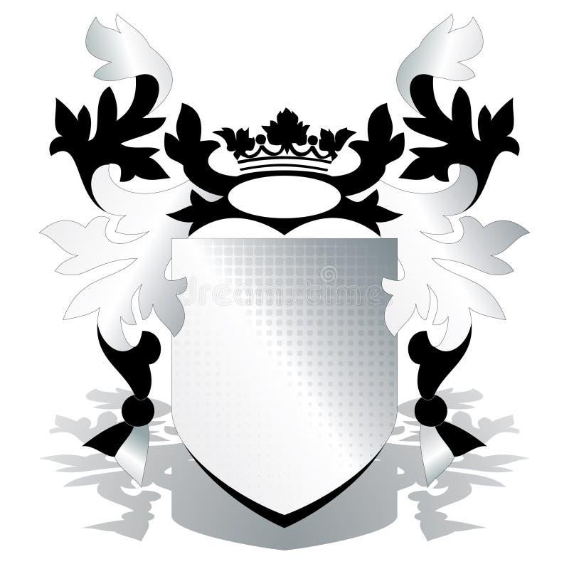 Het element van CREST met rooster stock illustratie