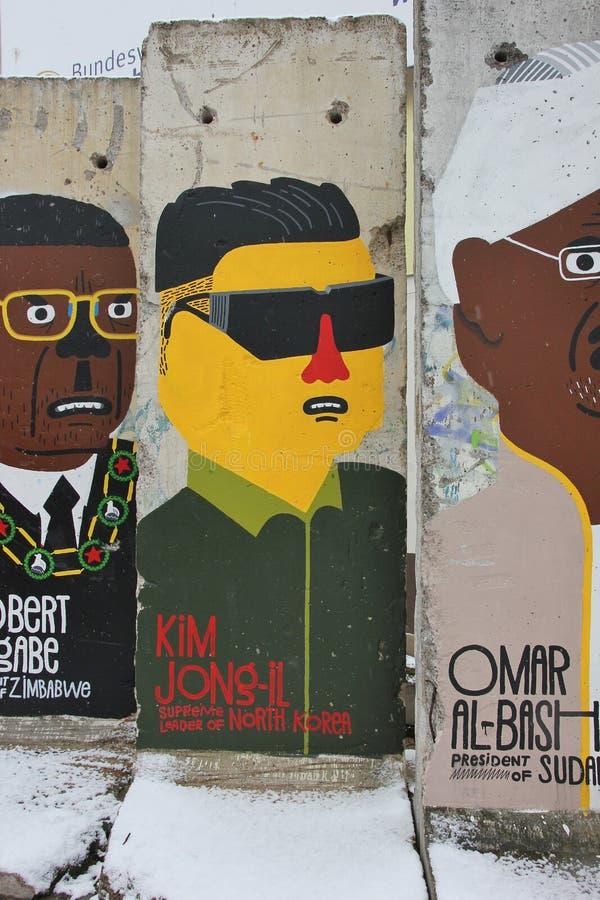Het element van de Muur van Berlijn royalty-vrije stock foto
