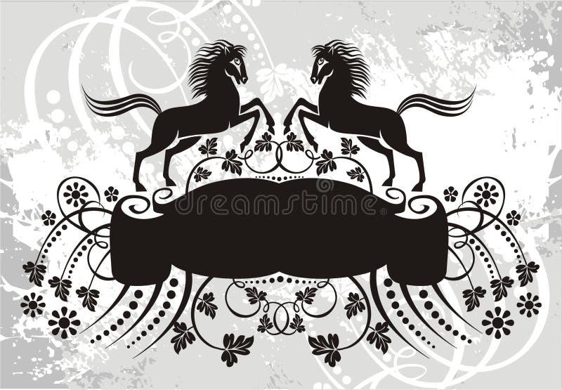 Het element van het embleem vector illustratie