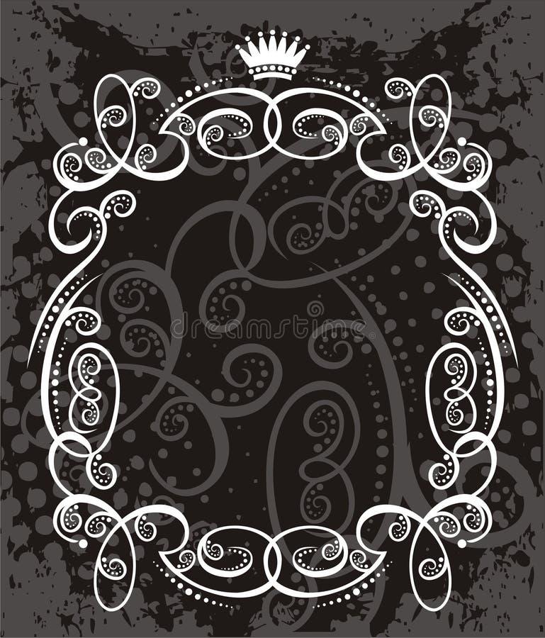Het element van het etiket royalty-vrije illustratie