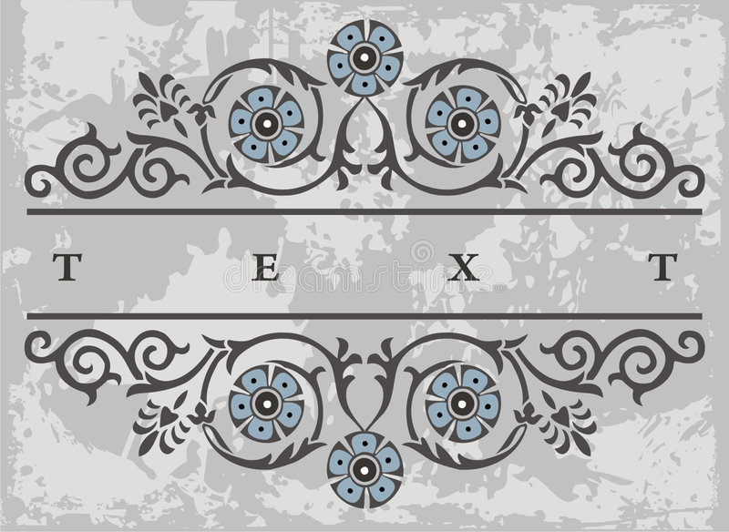 Het element van het etiket stock illustratie