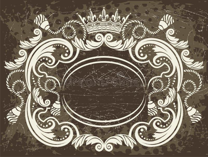 Het element van het frame royalty-vrije illustratie