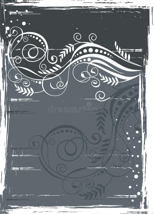 Het element van het frame stock illustratie