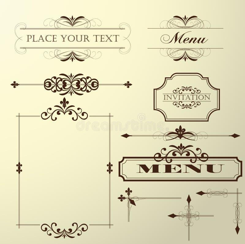 Het element van het ontwerp stock afbeelding