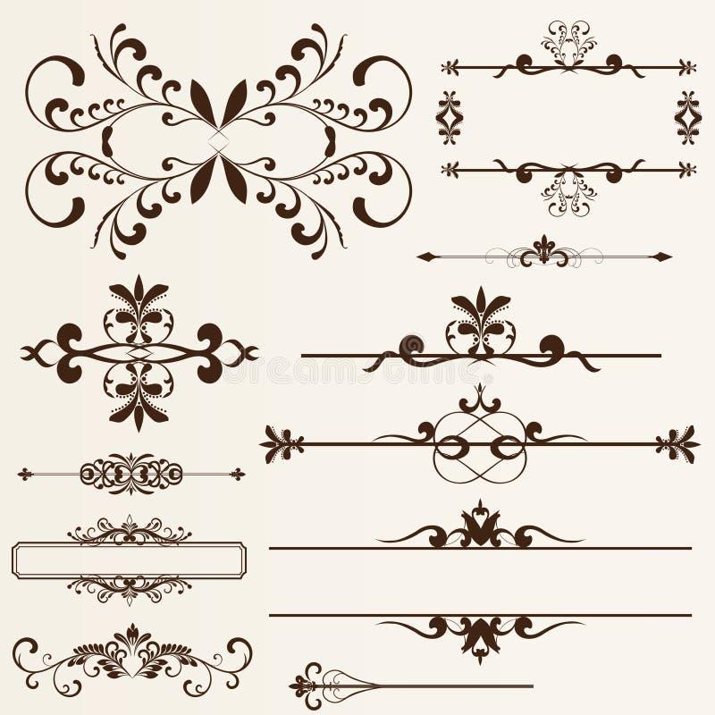 Het element van het ontwerp royalty-vrije stock afbeeldingen