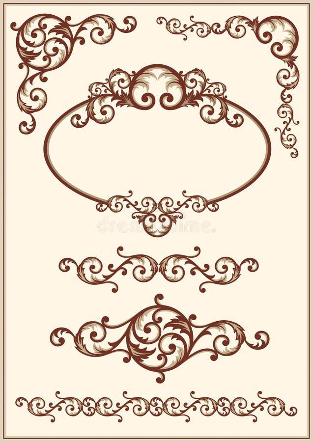 Het element van het ontwerp royalty-vrije illustratie